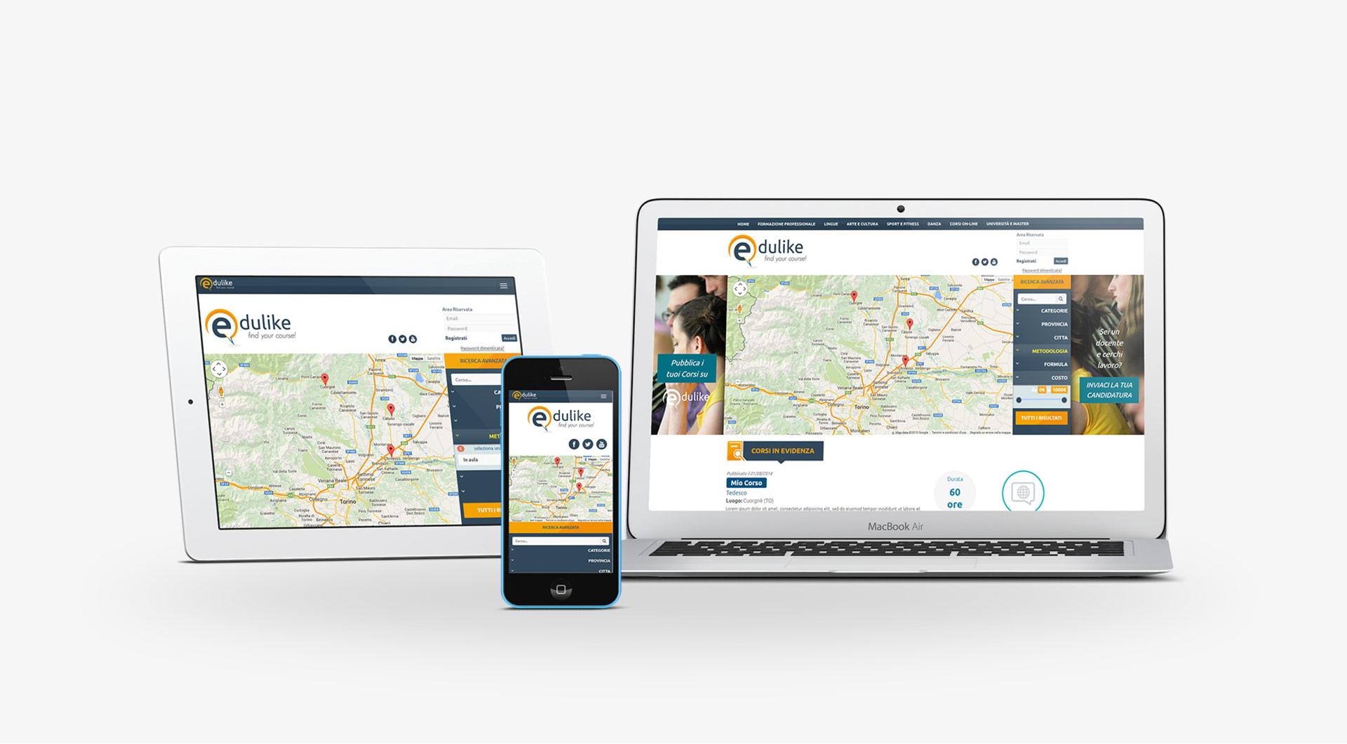 edulike 1 sito web corsi formazione torino edulike centri di formazione google maps