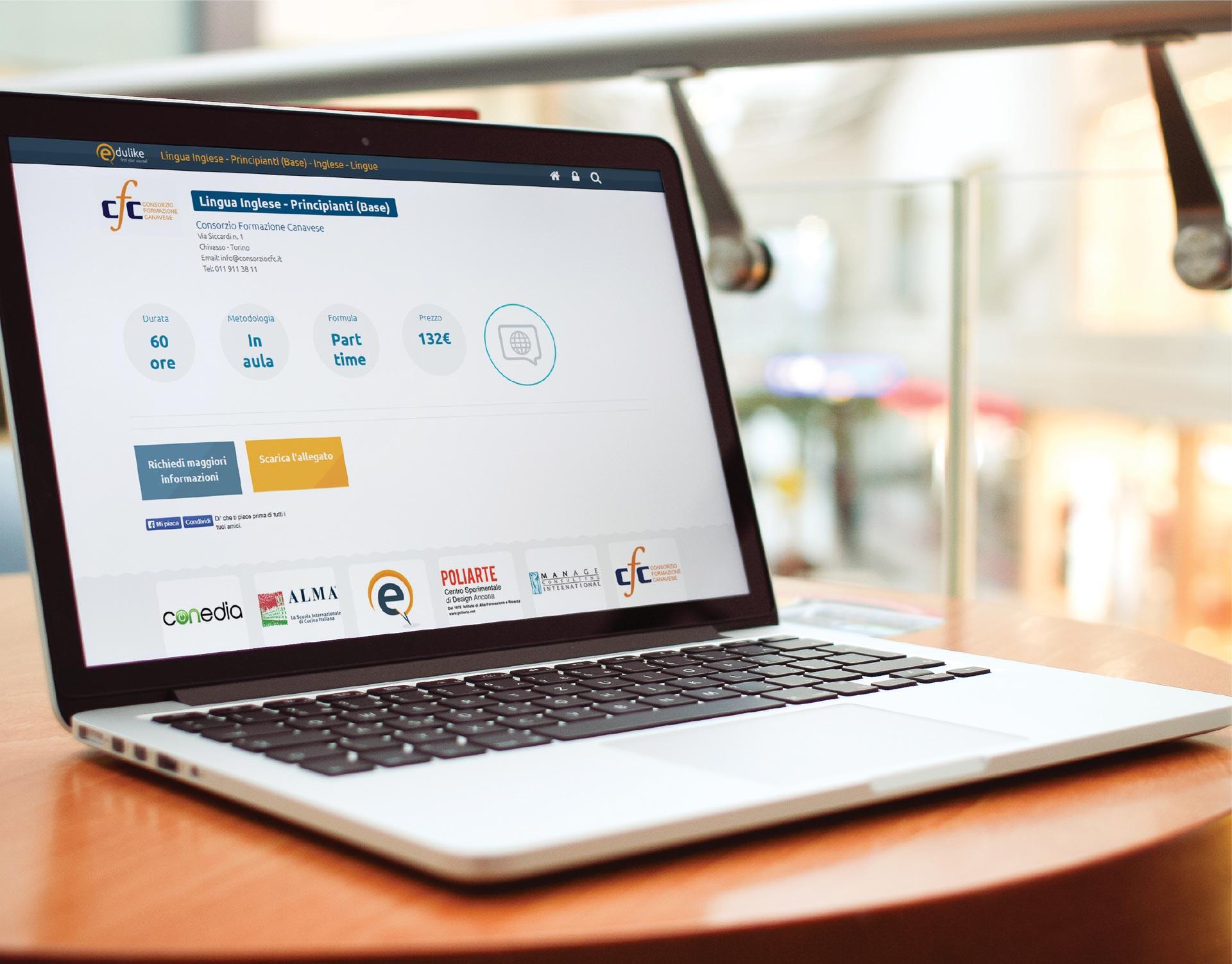 edulike 2 website corsi formazione milano edulike responsive