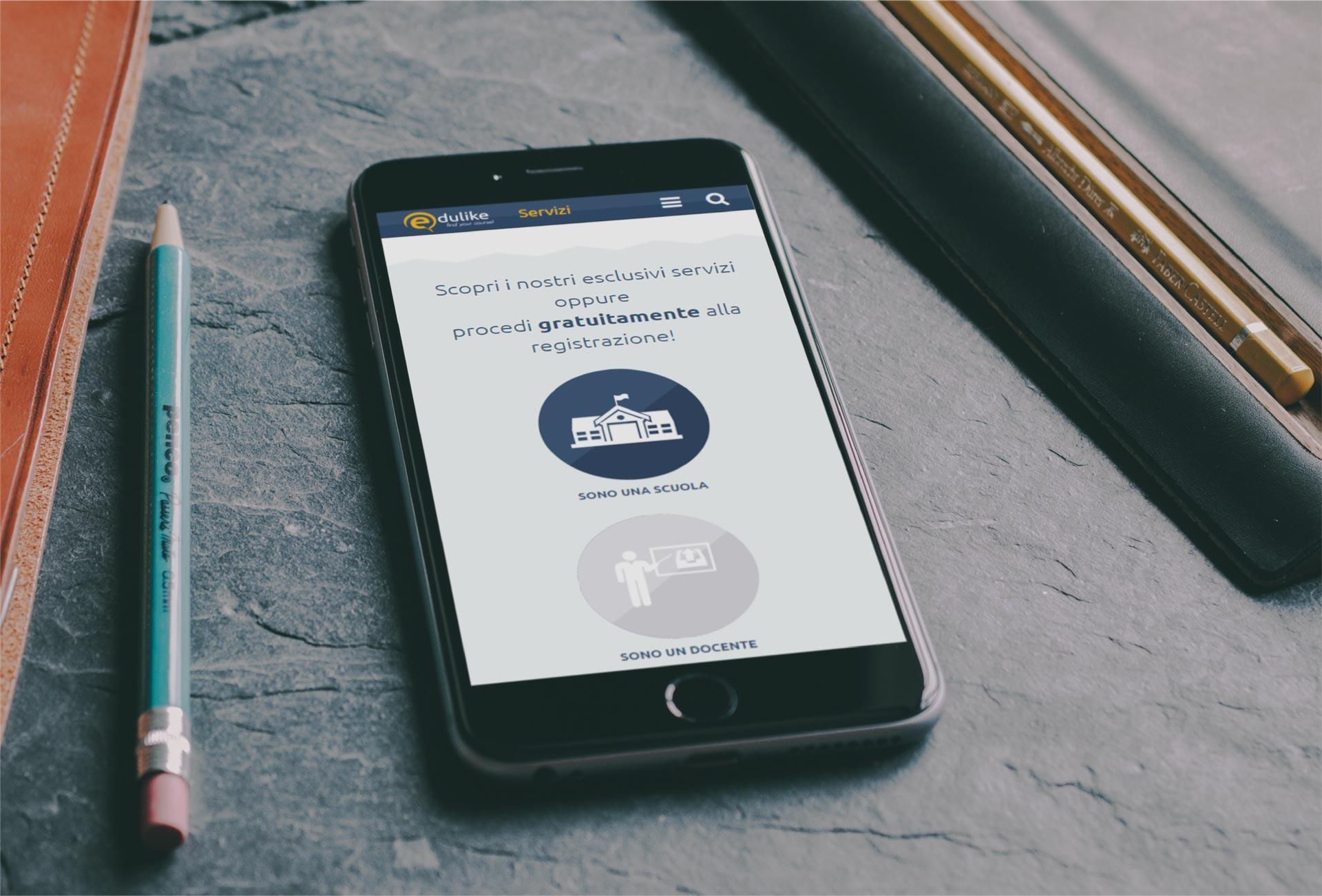 edulike 6 sito web personalizzato torino corsi centri formazioni scuole