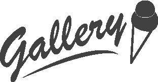 logo gallery gelateria artigianale insegne torino