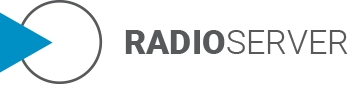 radio server logo design