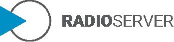 radio server logo design