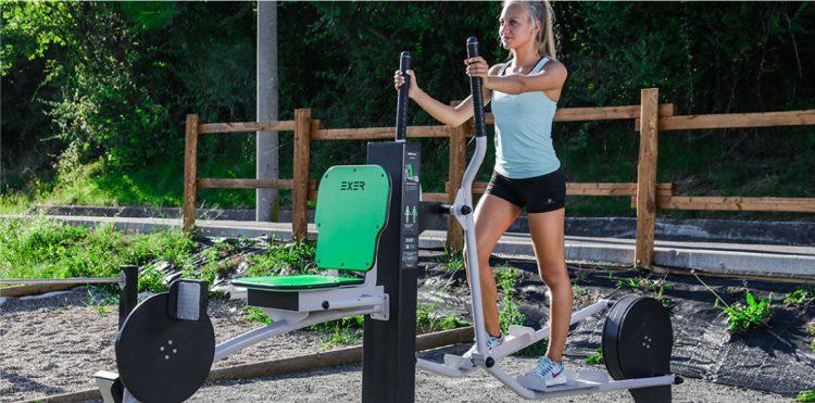panche fitness palestra attrezzi per esterno parchi aree verdi comunali